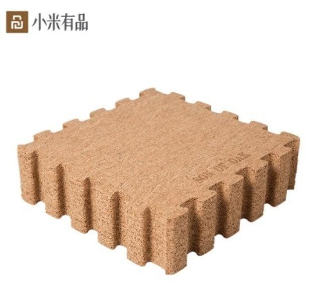 小米有品 橡兒天然軟木巧拼地墊 1