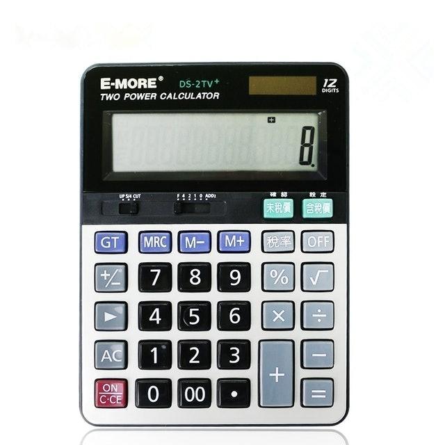E-MORE  會計財務12位數計算機 1
