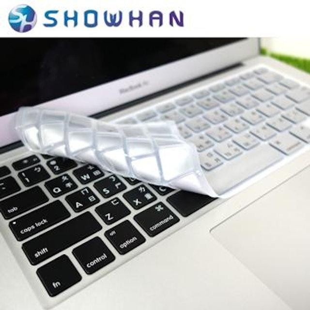 SHOWHAN Apple MacBook 12吋中文鍵盤保護膜 1