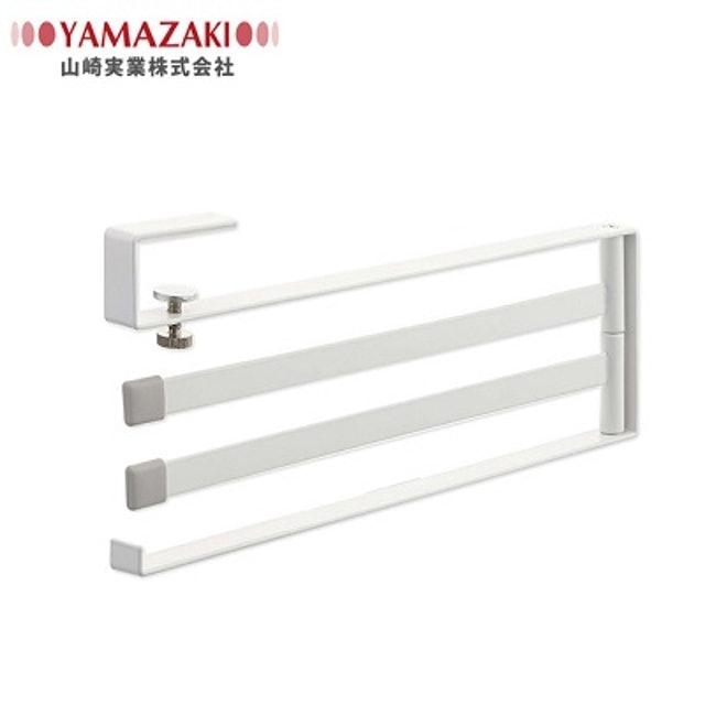 YAMAZAKI山崎  Plate 層板三桿毛巾架 1