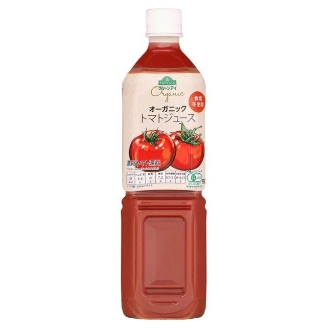 TOPVALU 無加鹽 有機番茄汁 1