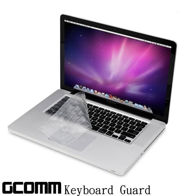 GCOMM Apple MacBook Pro/Retina/Air 13/15/17吋 鍵盤保護膜 1