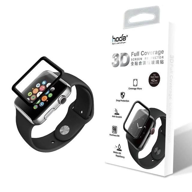 hoda Apple Watch 3D全曲面滿版玻璃保護貼 1