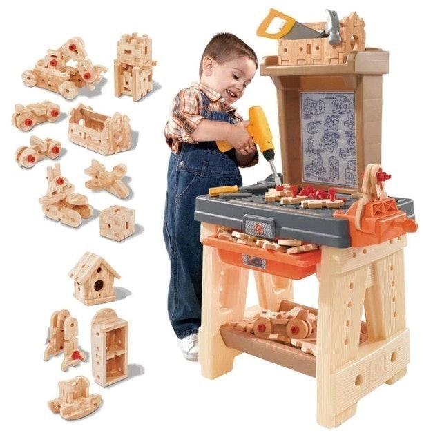 STEP2 超級工作臺/家家酒玩具角色扮演職業/兒童房幼兒園 1
