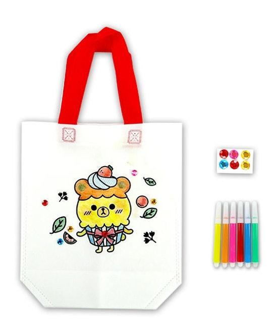 DIY 兒童彩繪環保手提袋 1