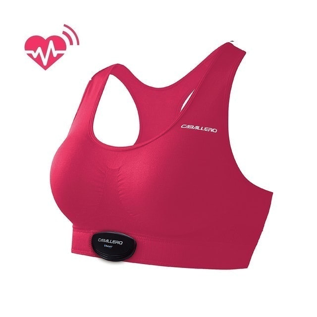CABALLERO 女性心跳感測短版運動背心 1