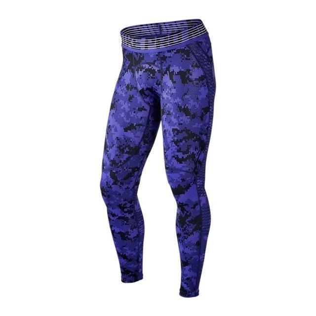 Nike耐吉 M NP HPRCL TGHT DIGI CAMO 緊身褲 1