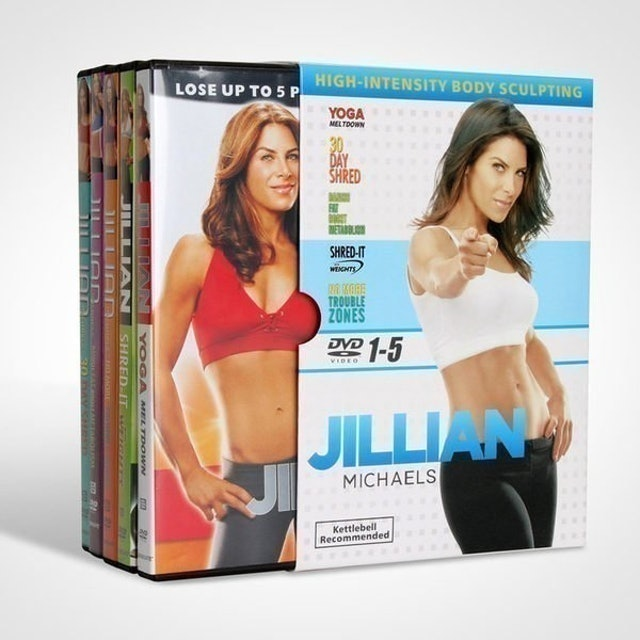 吉利安 Jillian Michaels 1-5 30天快速減肥 1