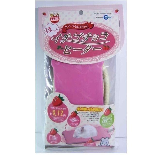Marukan 鼠用草莓電暖墊 1
