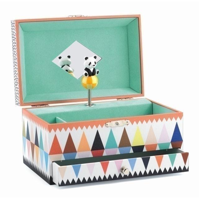 Djeco 智荷 熊貓跳舞珠寶盒 1