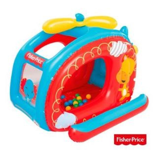 Fisher-Price  直升機造型充氣球池 1