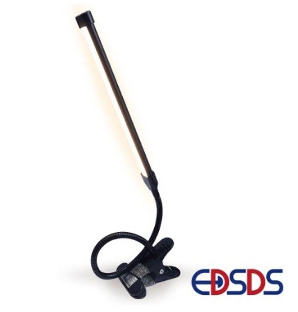 愛迪生 USB 線控 LED 軟管夾燈 1