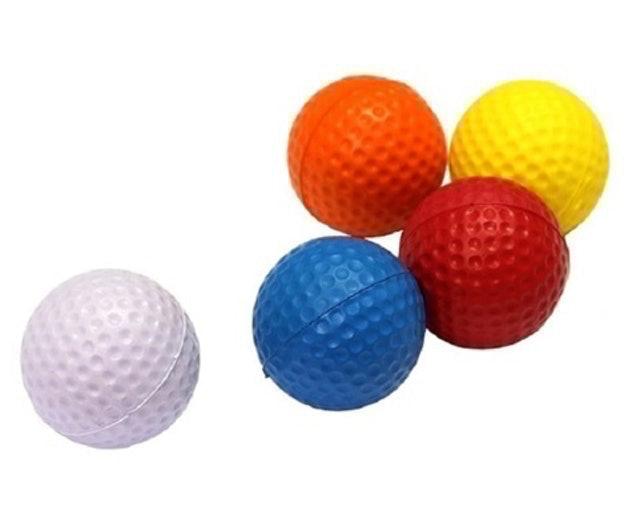 Posma 彩色高爾夫室內發泡練習球 1