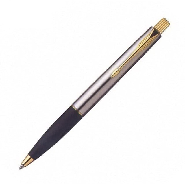 PARKER 雲峰系列 鋼桿金夾原子筆 1