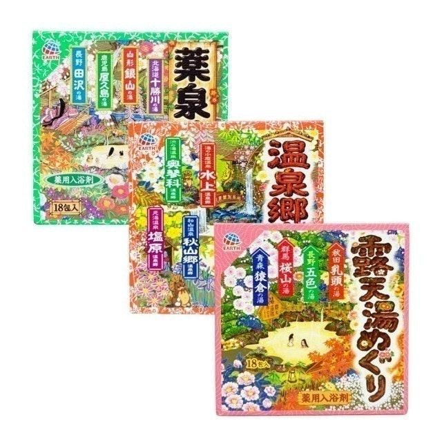 EARTH 日本風味溫泉藥用入浴劑 1