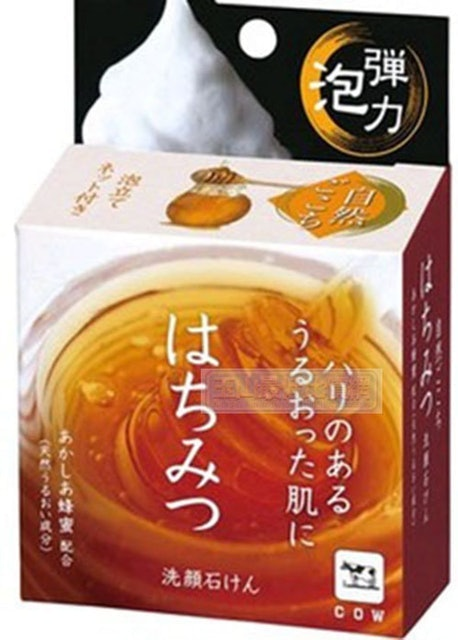 牛乳石鹼 自然派蜂蜜洗顏皂 1