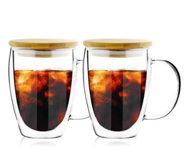 FUSHIMA 富島  雙層耐熱玻璃杯  1