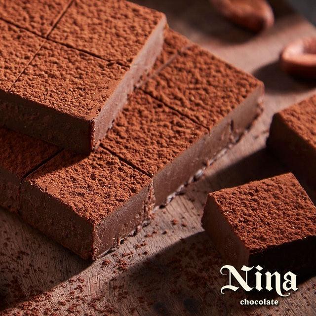 Conas妮娜巧克力 75%經典生巧克力 1