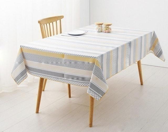 CasaBella 美麗家居 北歐幾何圖防水桌巾 1
