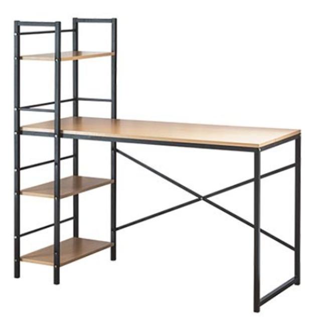 完美主義  可調式層架電腦桌 1