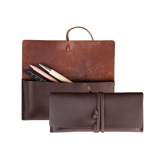 labrador 皮革筆袋 1