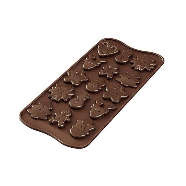 SiliKoMart  巧克力果凍冰塊模具 1