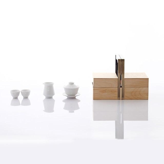 JIA Inc.品家家品  紛雪品茗茶具+茶盒組 1