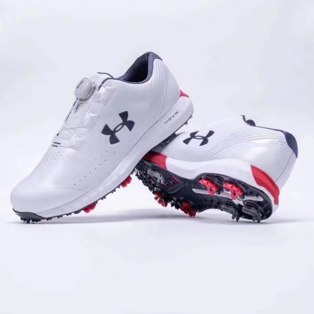 UNDER ARMOUR 2020 防滑防水男款高爾夫球鞋 1