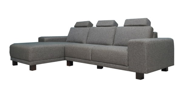 BN-Home BRITNEY純粹北歐風格L型布沙發 1