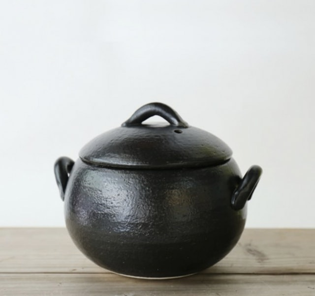 永新陶苑  萬古燒炊飯土鍋 3合 1