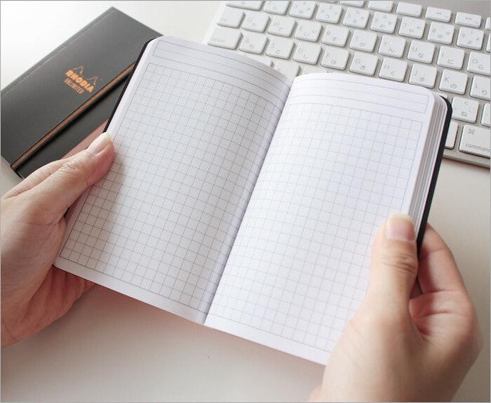 符合書寫習慣的內頁格式