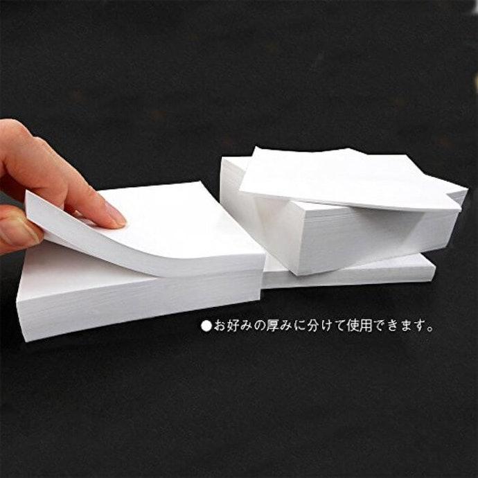 不僅限於桌上使用,可視需求攜帶適當份量外出的「便條紙磚」