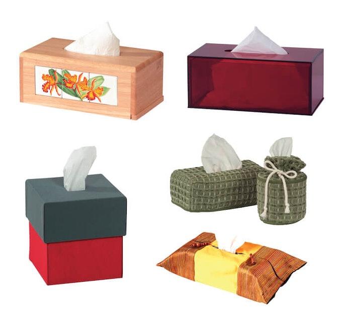 了解各種面紙盒的材質與特性