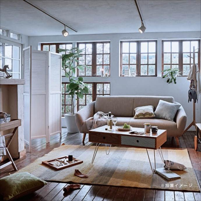 可做為室內裝飾的「直立式屏風」