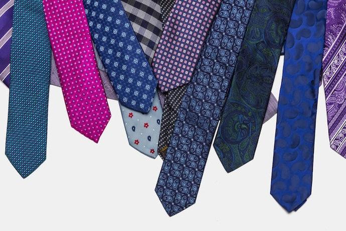 從可收納的領帶「數量」著手