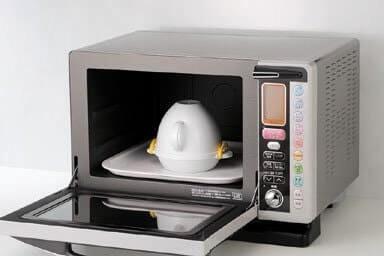 配合微波爐的性能調整加熱時間
