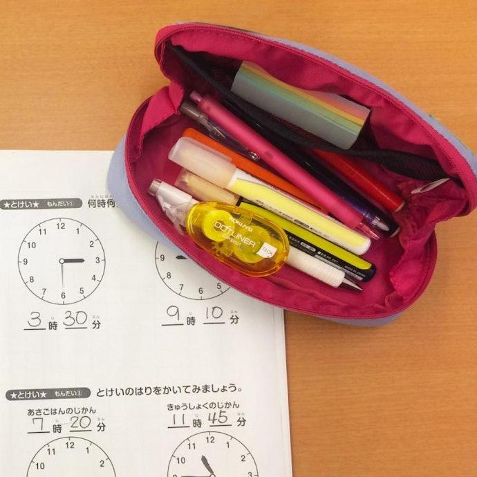 能一次帶足所有文具,令人倍感安心的「容量型筆袋」