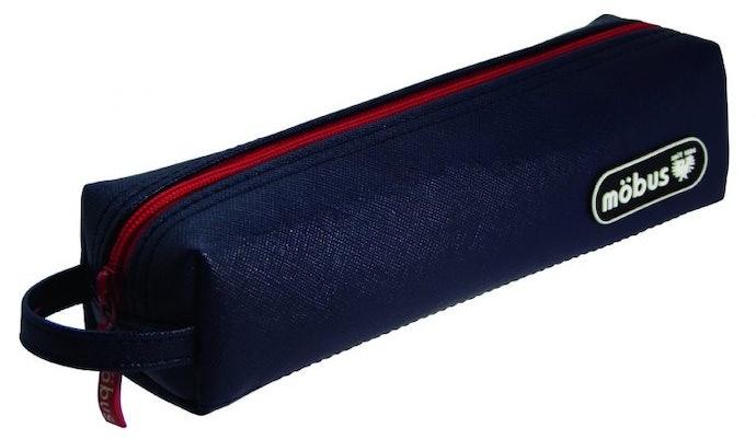 輕巧好攜帶,也不佔桌面空間的「細長型筆袋」
