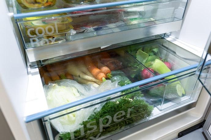 保存於冰箱的蔬菜室