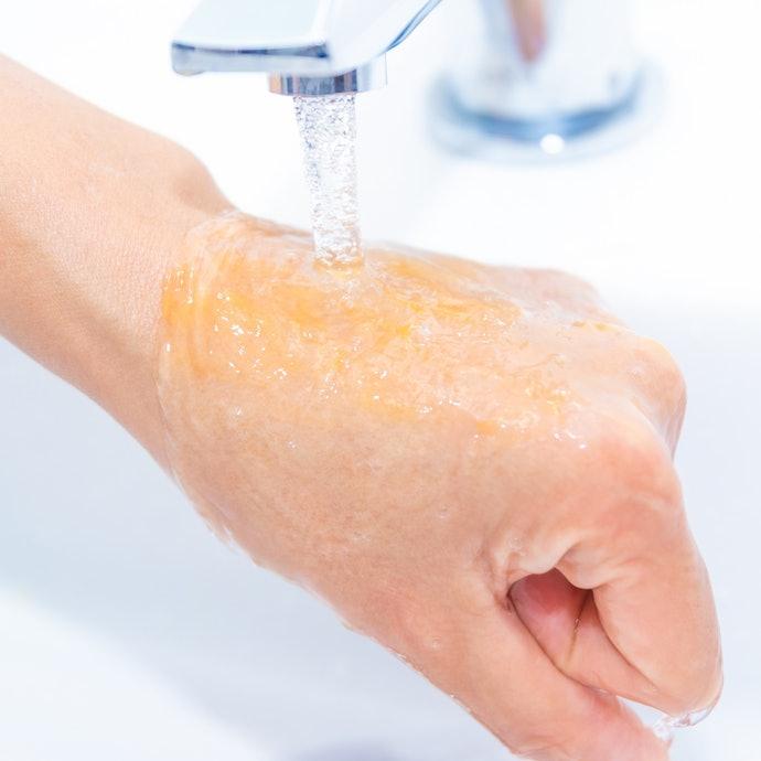 未長疹子和痘痘;只是要注意是否沖洗乾淨