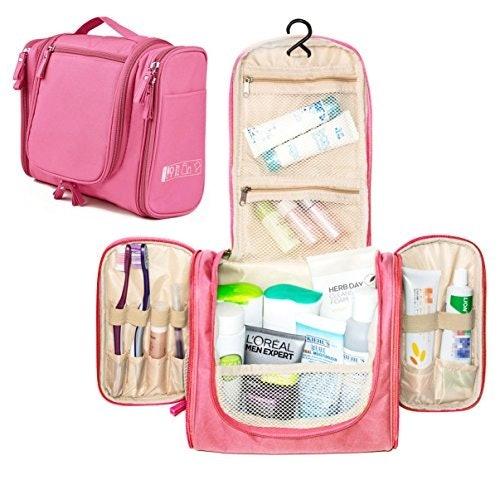 固定放在房間或浴室內:箱型的旅行盥洗包